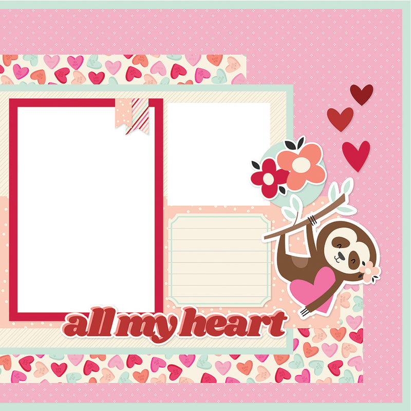 Simple Pages Page Kit - All My Love