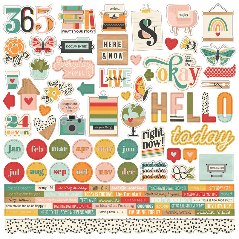 Hello Today - Stamps