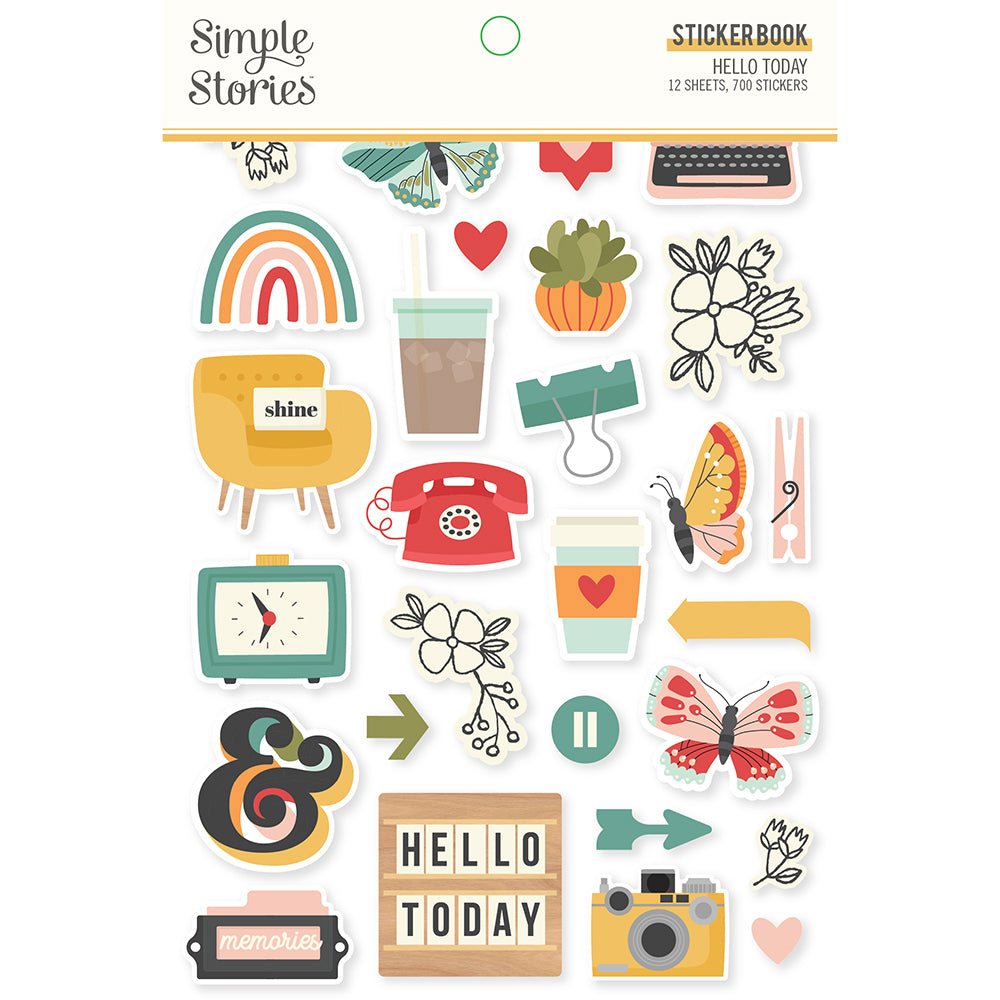 Hello Today - Sticker Book