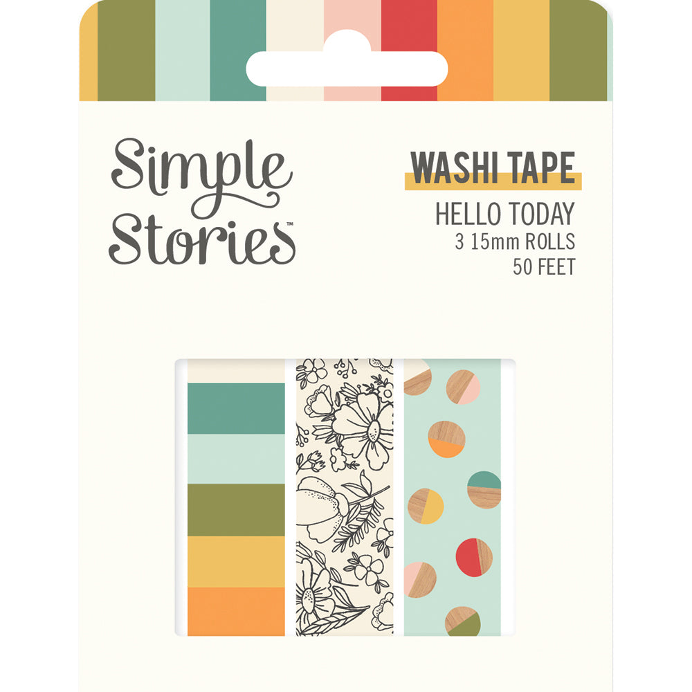 Hello Today - Washi Tape