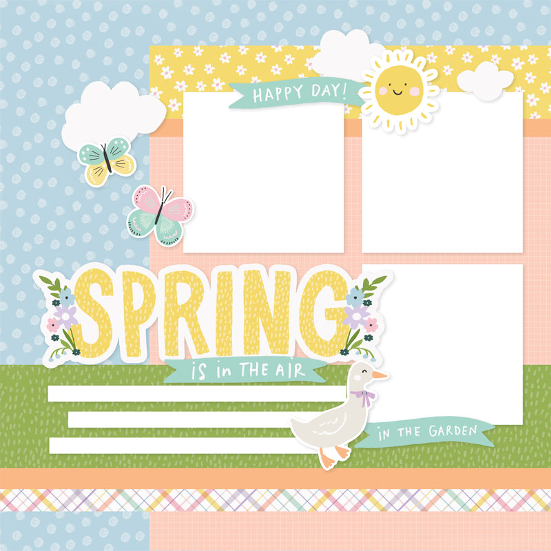 Simple Pages Page Kit - Happy Spring