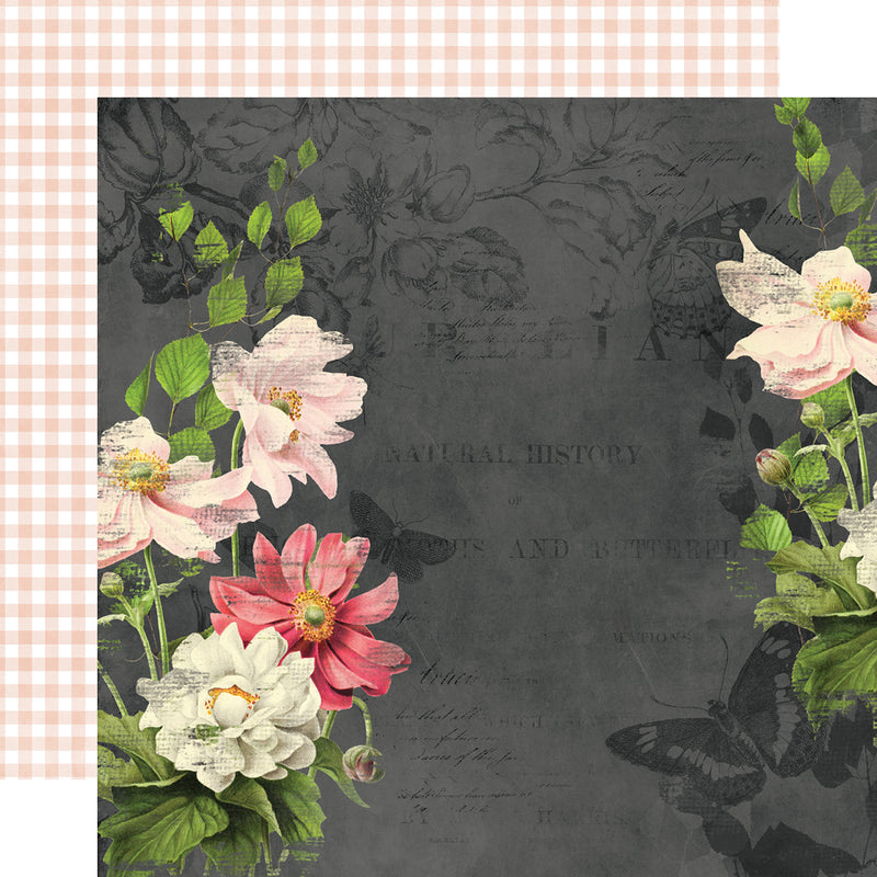 Simple Vintage Cottage Fields - Floral Bits & Pieces