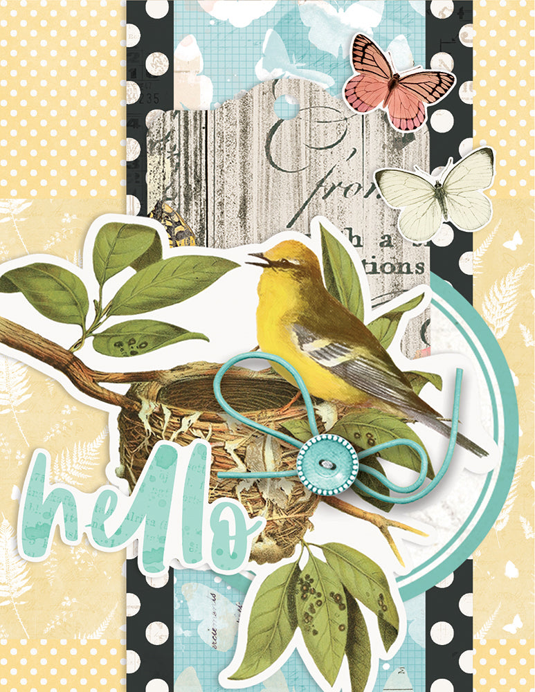 Simple Cards Card Kit - Hello Lovely