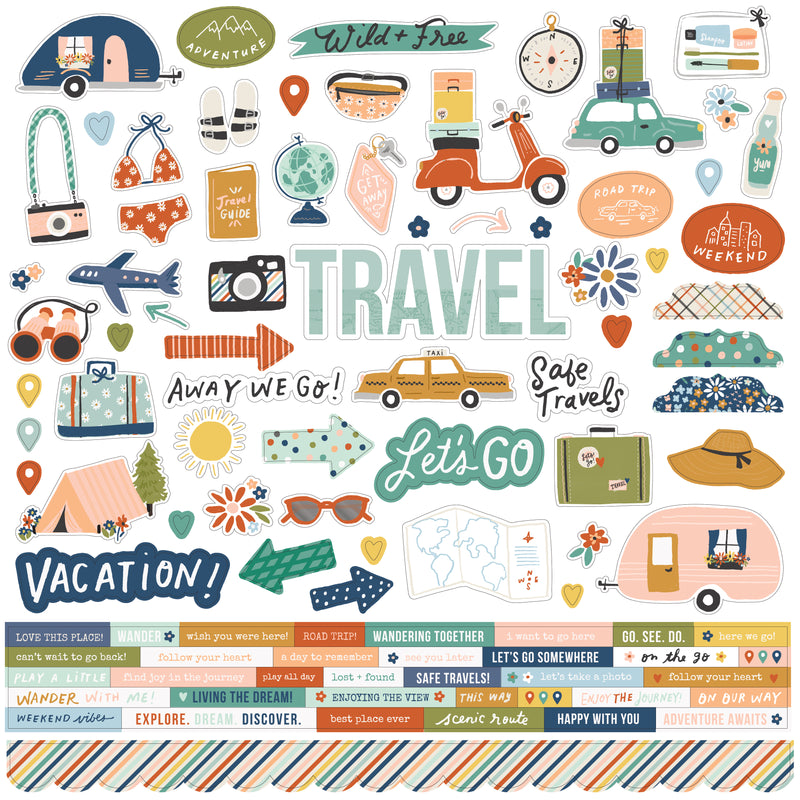 Safe Travels - Washi Tape