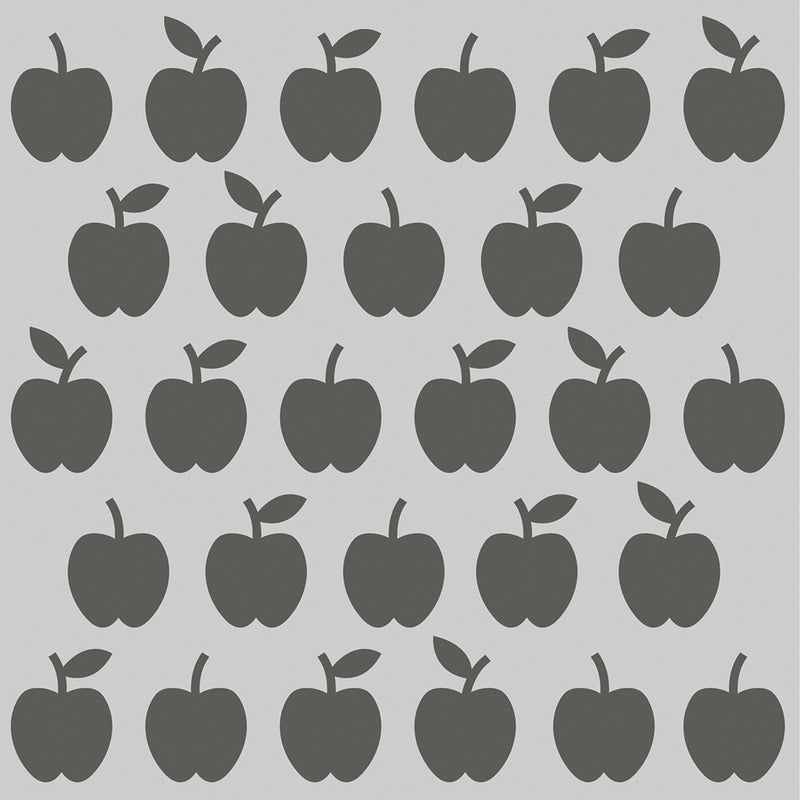 School Life - 6x6 Stencil - Apples
