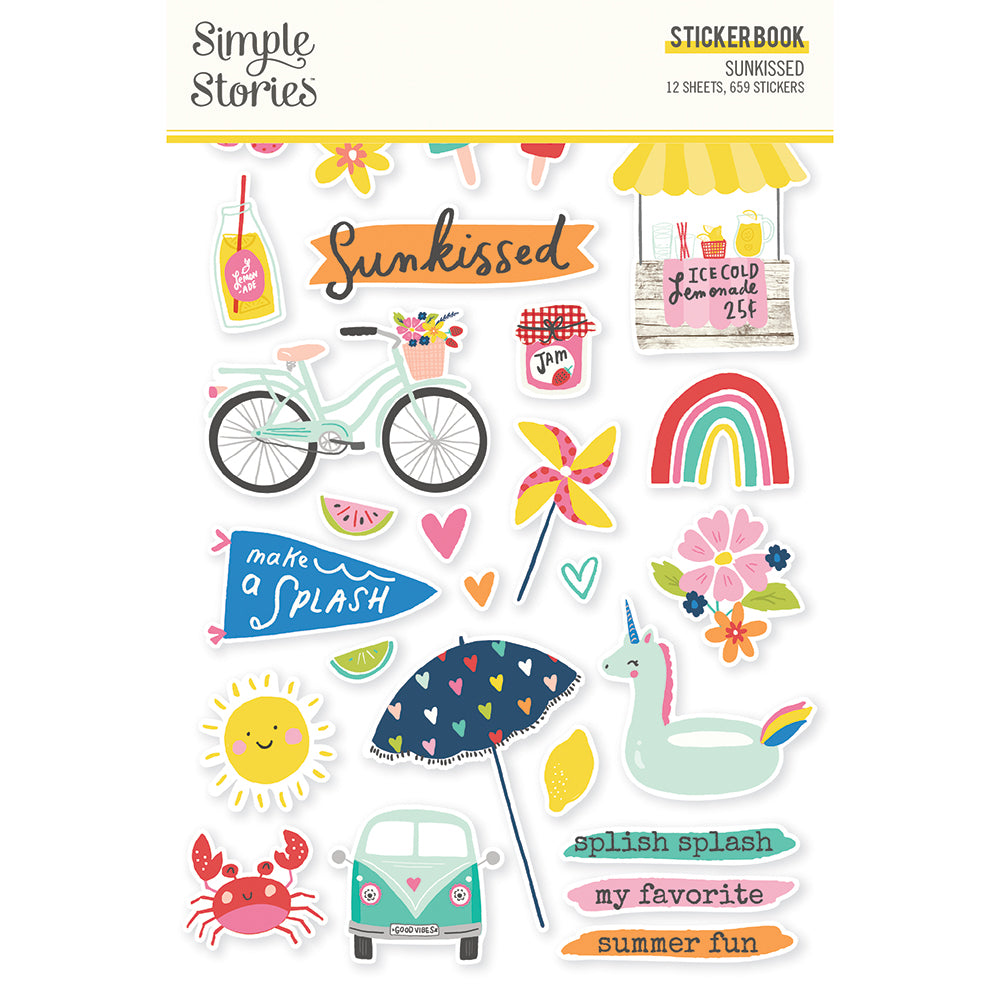 Sunkissed - Sticker Book