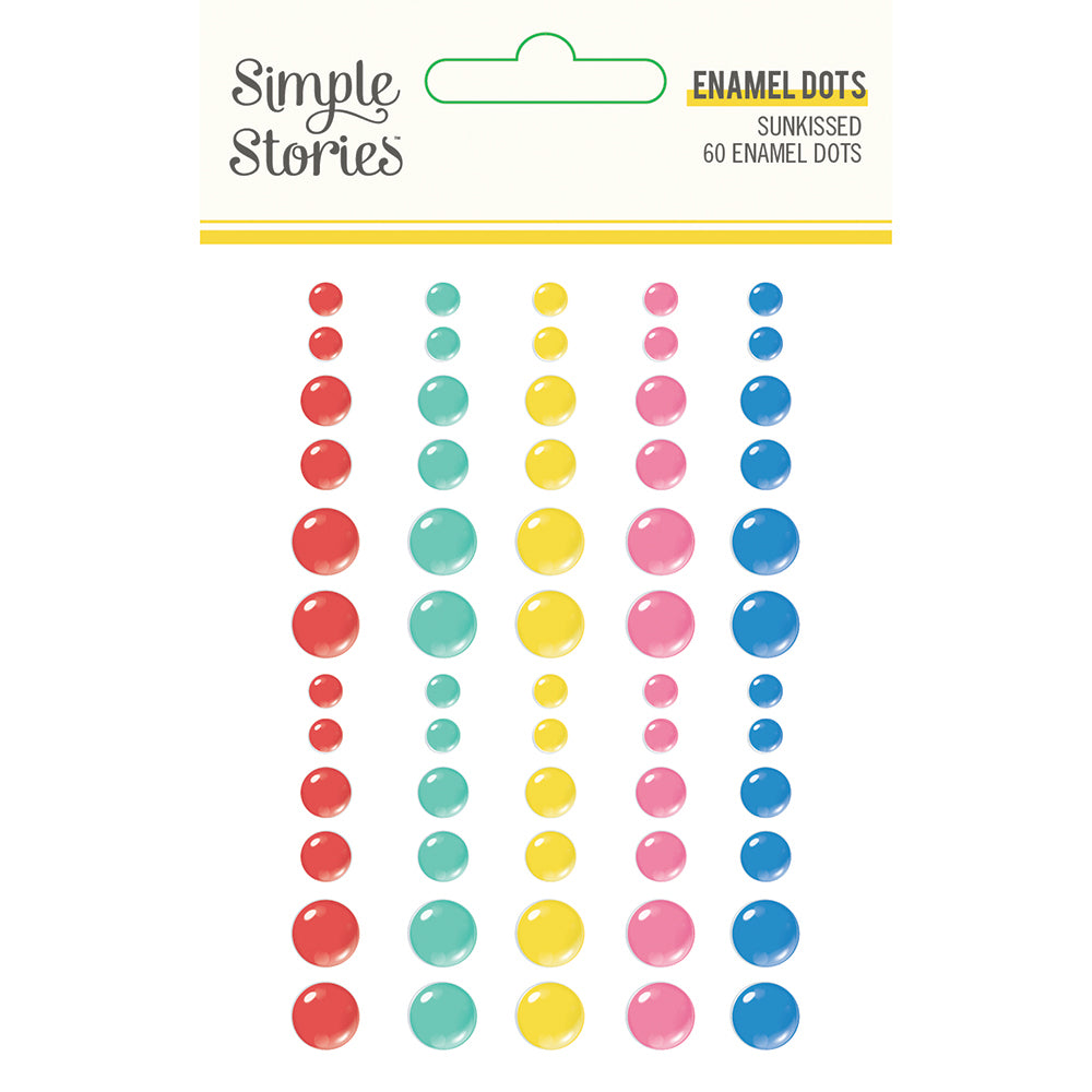 Sunkissed - Enamel Dots