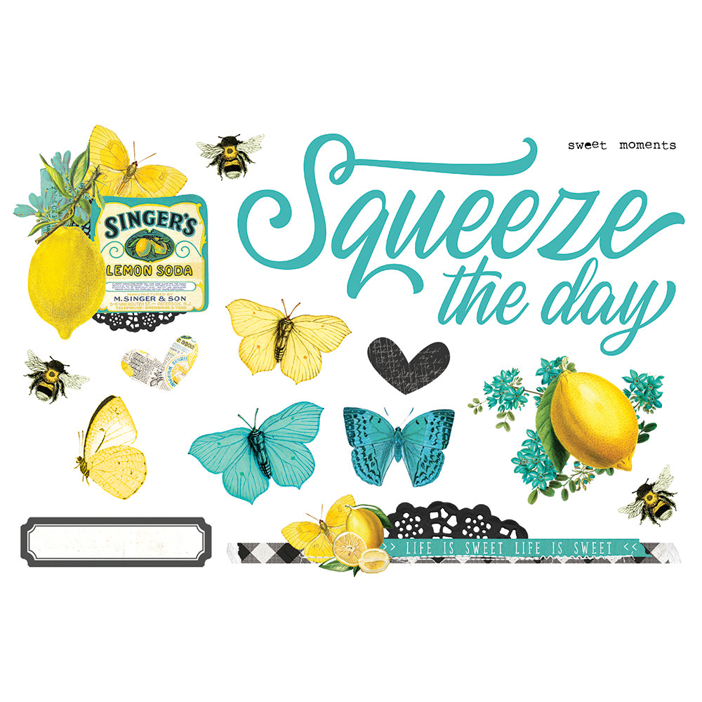 Simple Pages Page Pieces - Squeeze the Day