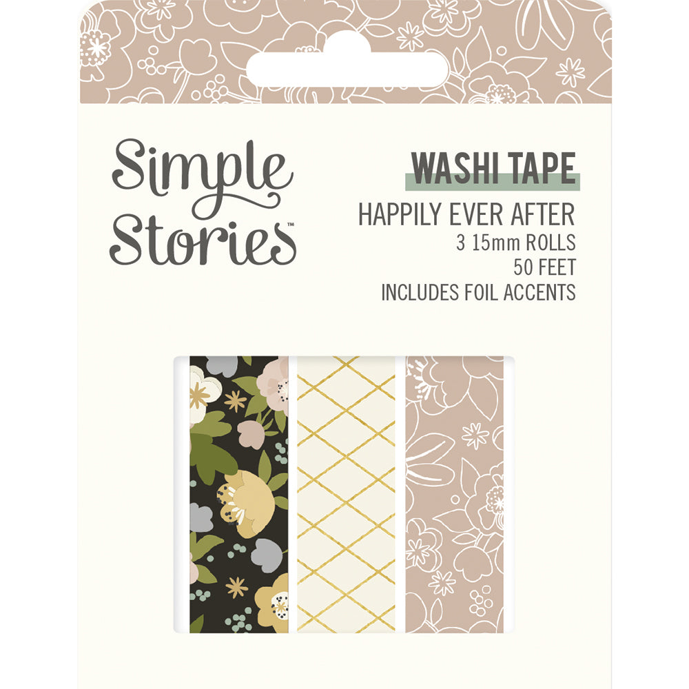 Happily Ever After - Washi Tape