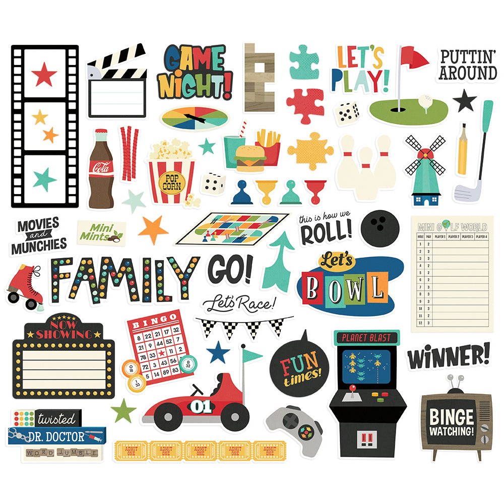 Family Fun - Bits & Pieces