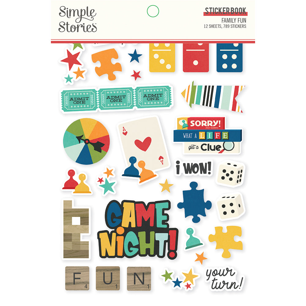 Family Fun - Sticker Book