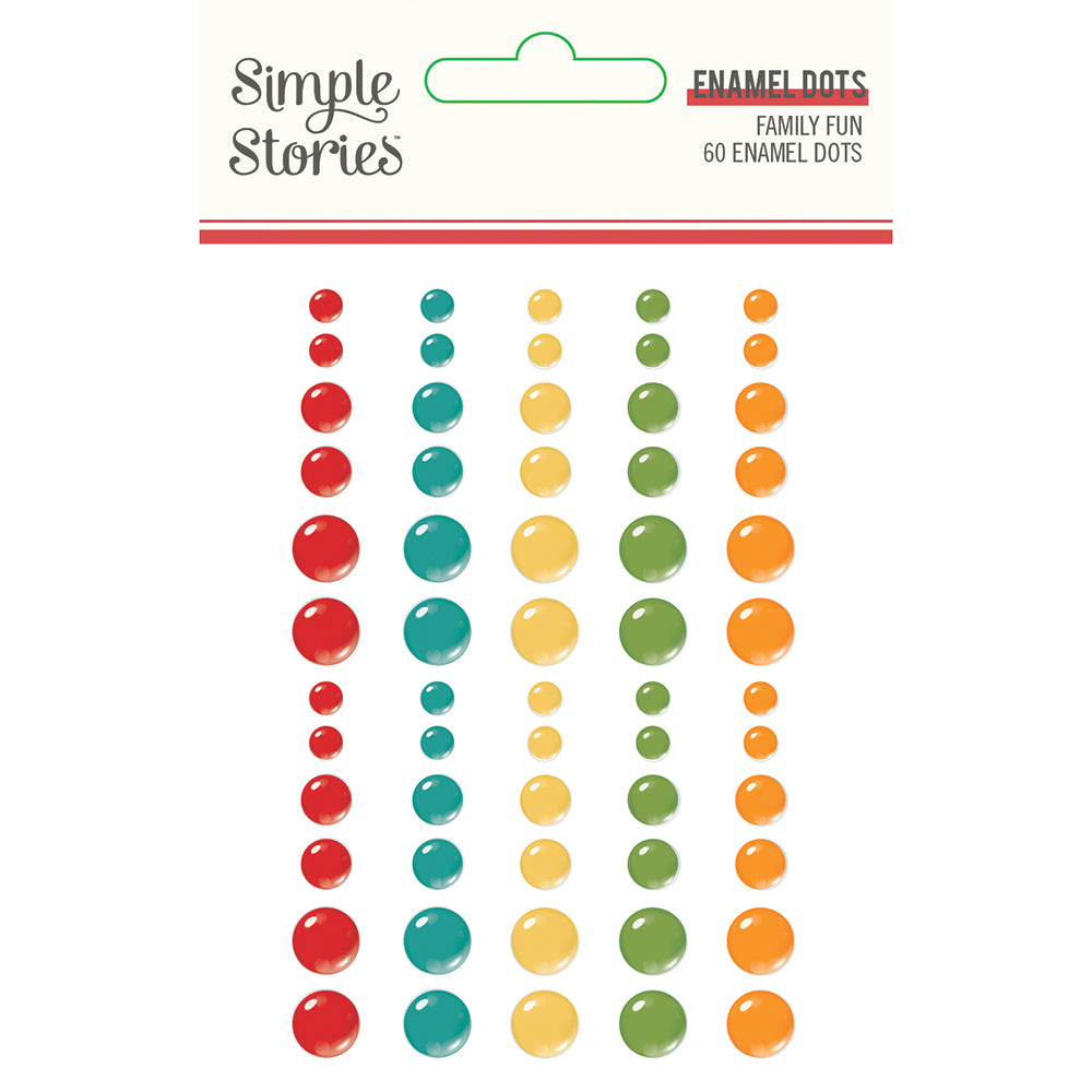 Family Fun - Enamel Dots