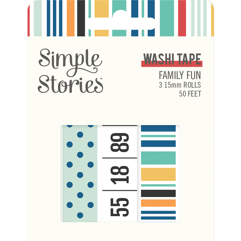 Family Fun - Washi Tape