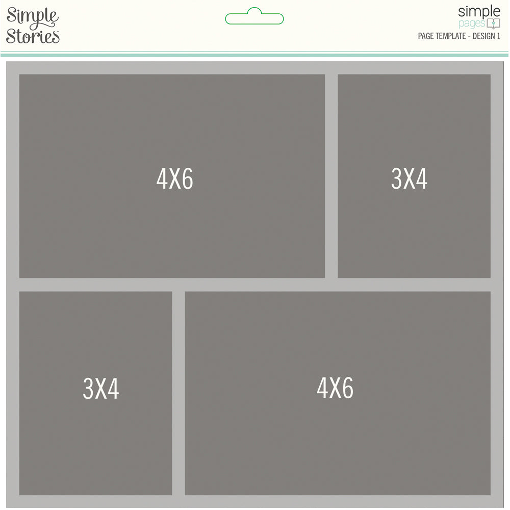 Simple Pages Page Template - Design 1