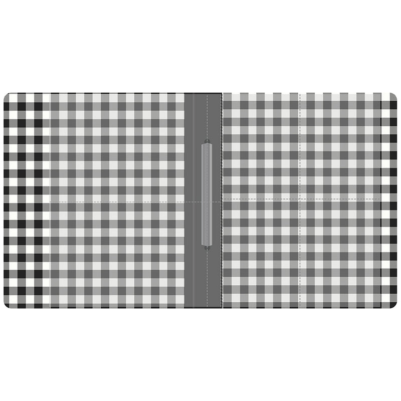 SN@P! 6x8 Flipbook - Black Buffalo Check