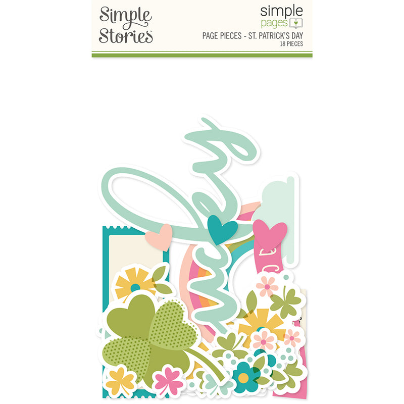 Simple Pages Page Pieces - St. Patrick's Day