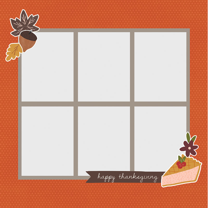 Simple Pages Page Pieces - Thanksgiving