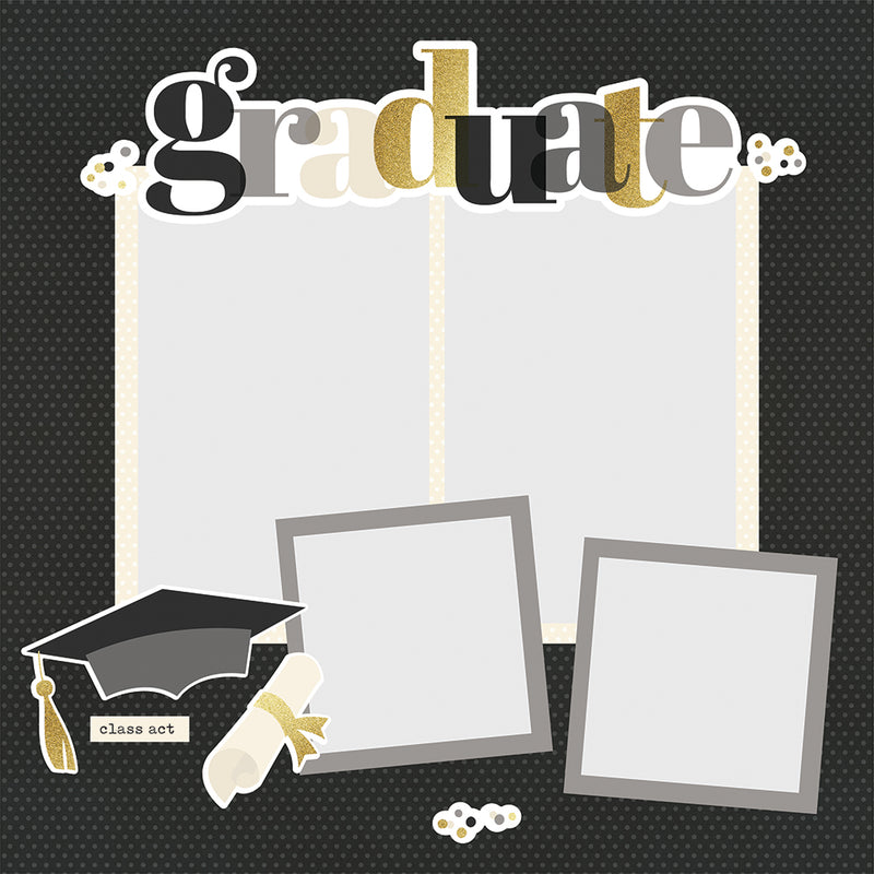 Simple Pages Page Pieces - Graduation
