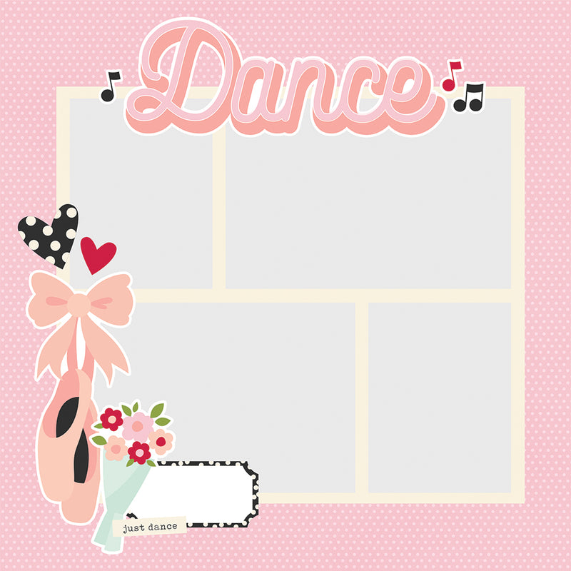 Simple Pages Page Pieces - Dance