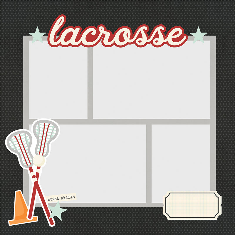 Simple Pages Page Pieces - Lacrosse