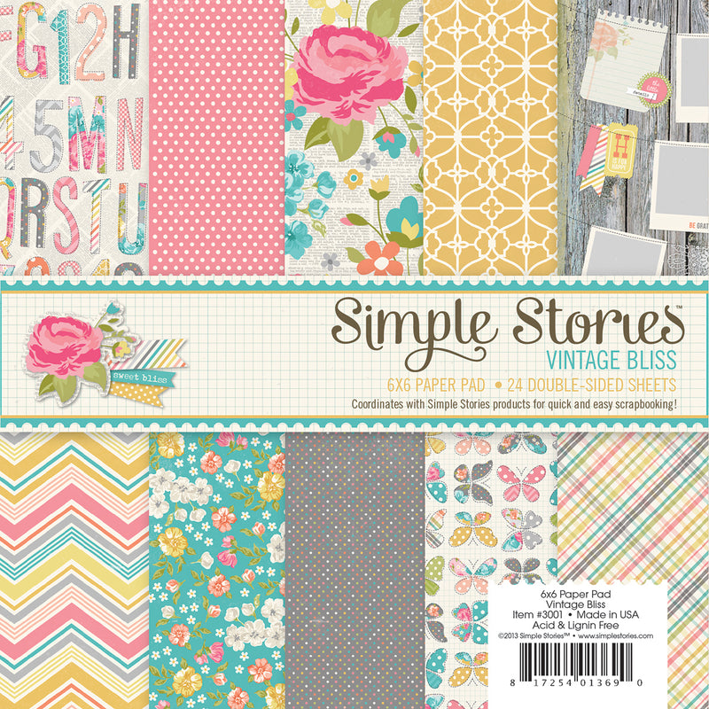 Vintage Bliss 6X6 Pad