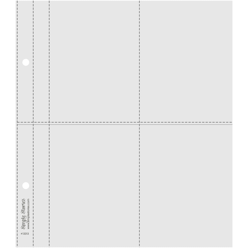6X8 SN@P! Flipbook Pages - 3x4 Pack Refills