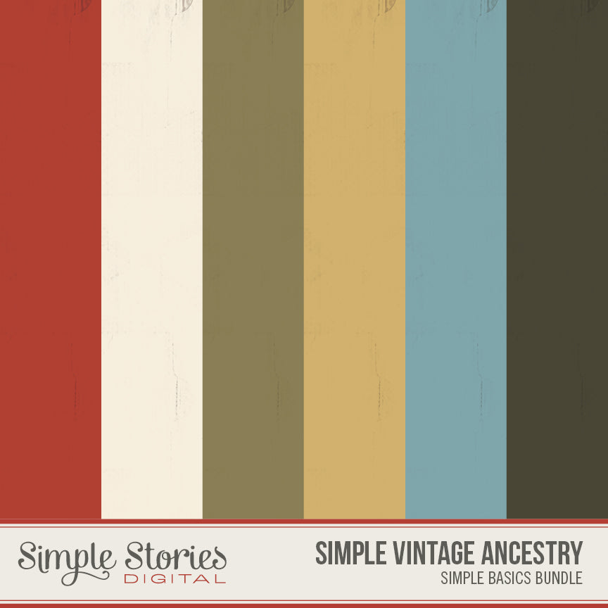 Simple Vintage Ancestry Digital Simple Basics