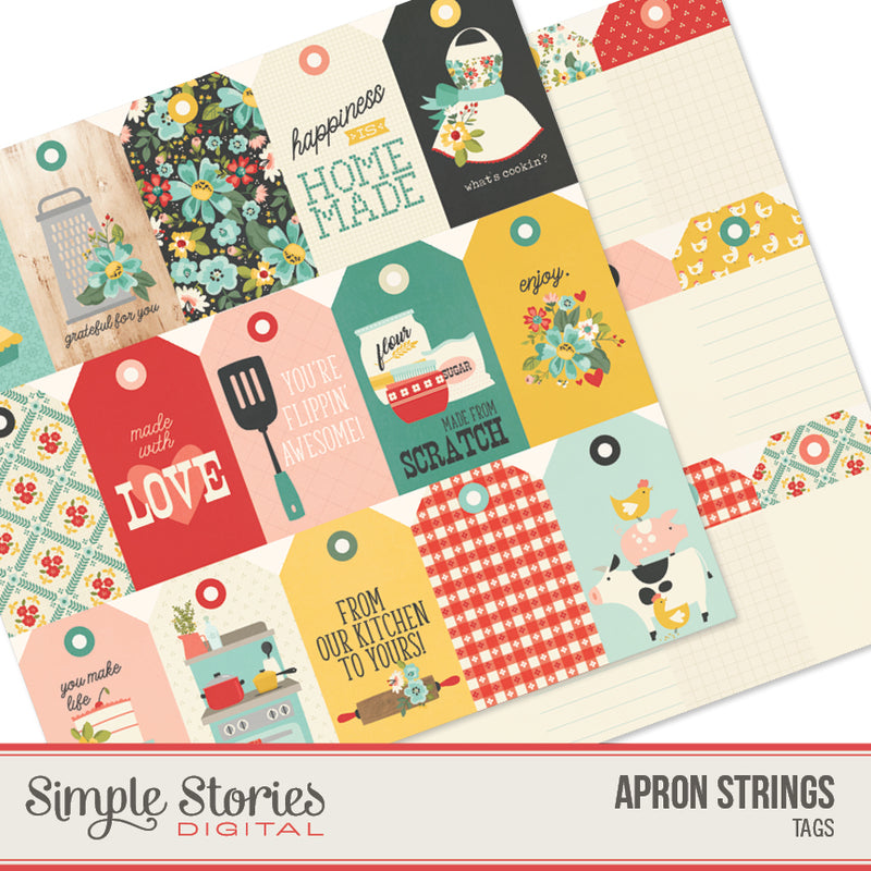 Apron Strings Digital Tags