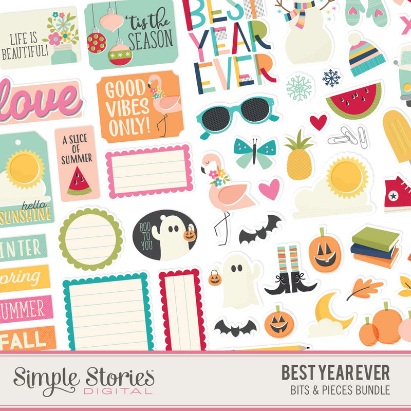 Best Year Ever Digital Elements