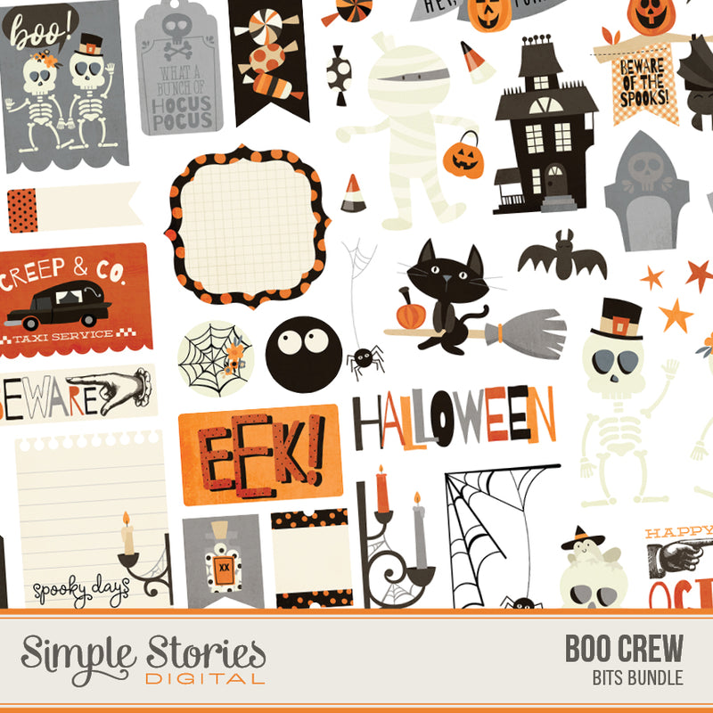 Boo Crew Digital Bits Bundle