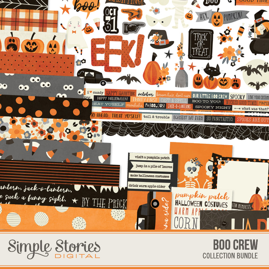 Boo Crew Digital Collection Kit Bundle