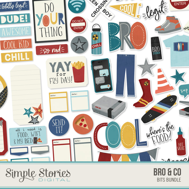 Bro & Co Digital Stickers