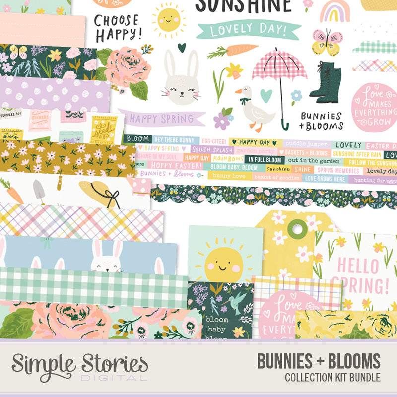 Summer Days Digital Designer Cardstock