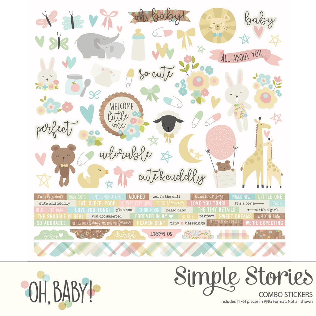 Oh, Baby Digital Stickers