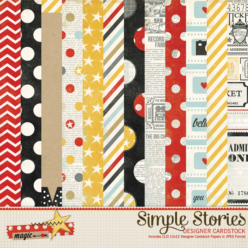 Say Cheese 1 Digital Paper Kit