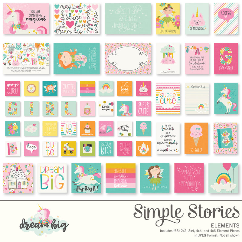 Dream Big Digital Designer Cardstock