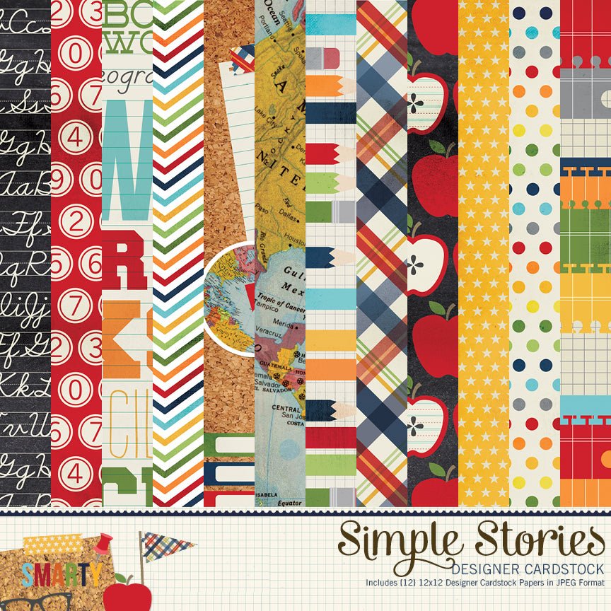 Smarty Pants Digital Paper Kit