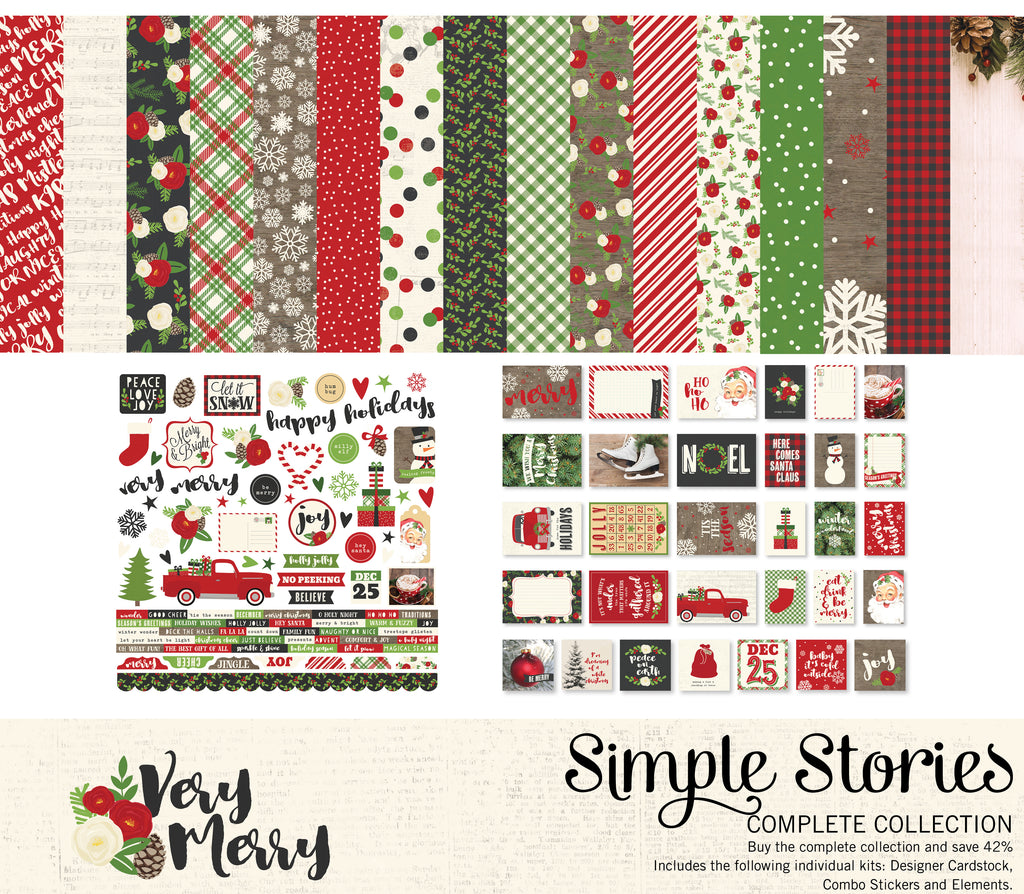 Very Merry Digital Collection Kit