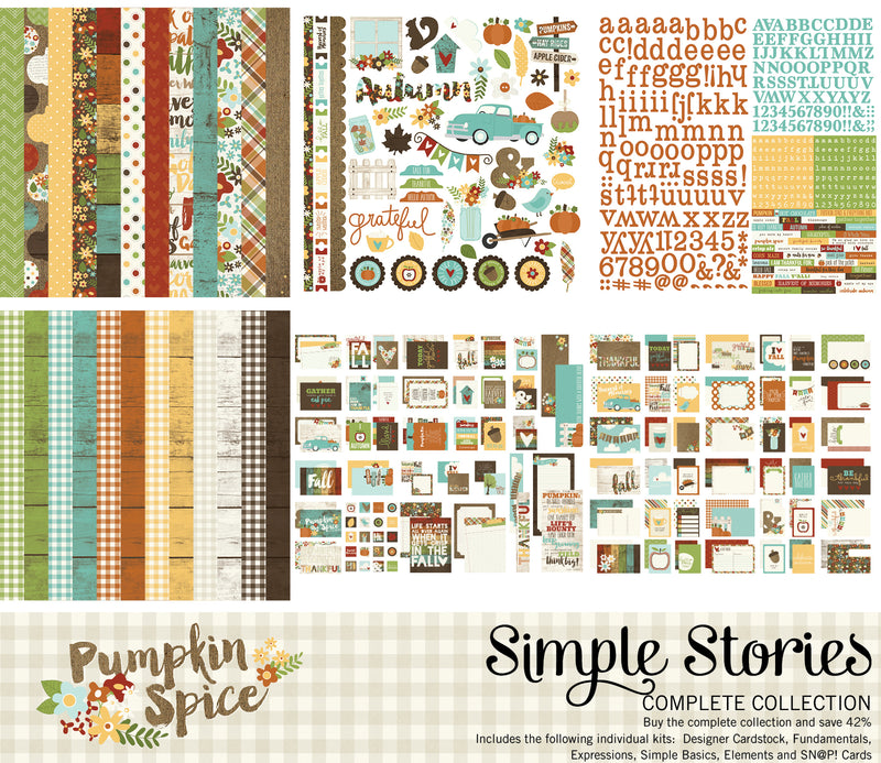 Pumpkin Spice Digital Simple Basics