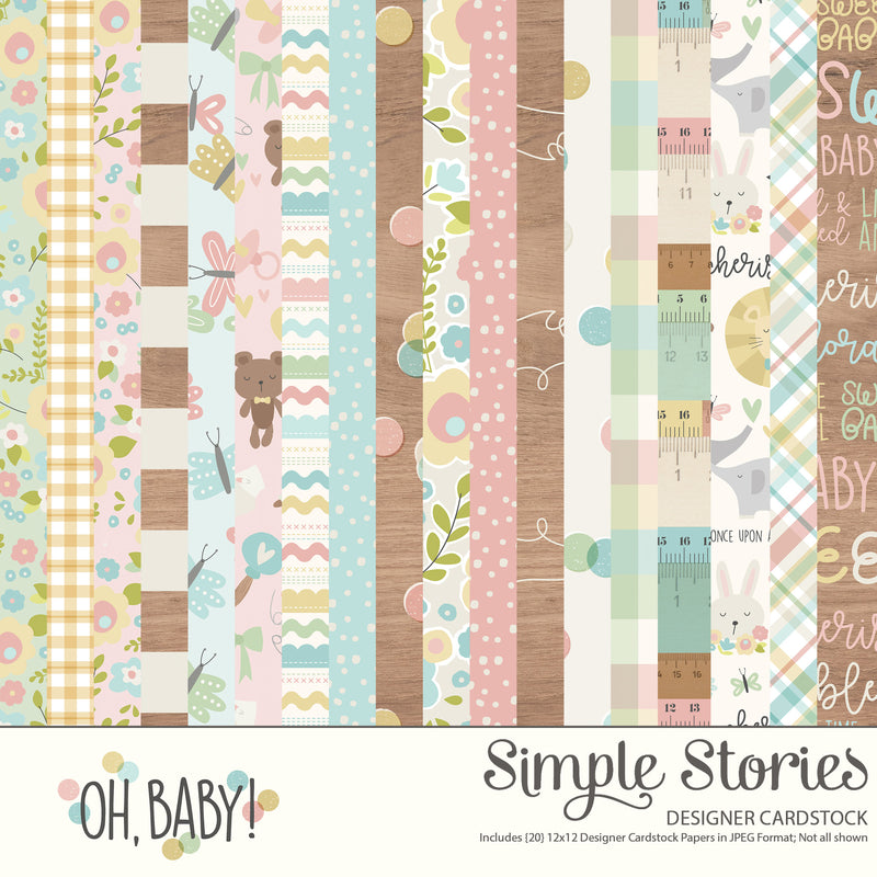 Oh, Baby Expecting Digital Simple Set