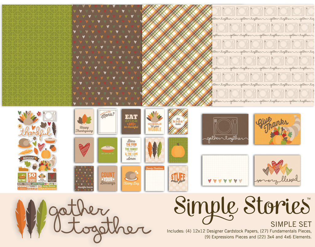 Gather Together Digital Simple Set