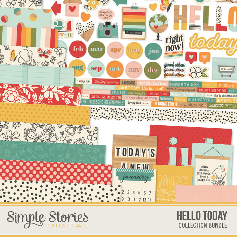 Hello Today Digital Collection Kit