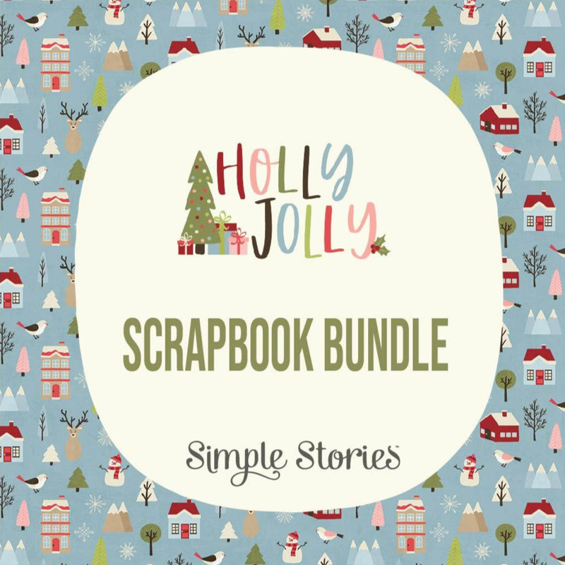 Halloween and Christmas Scrapbook Bundle