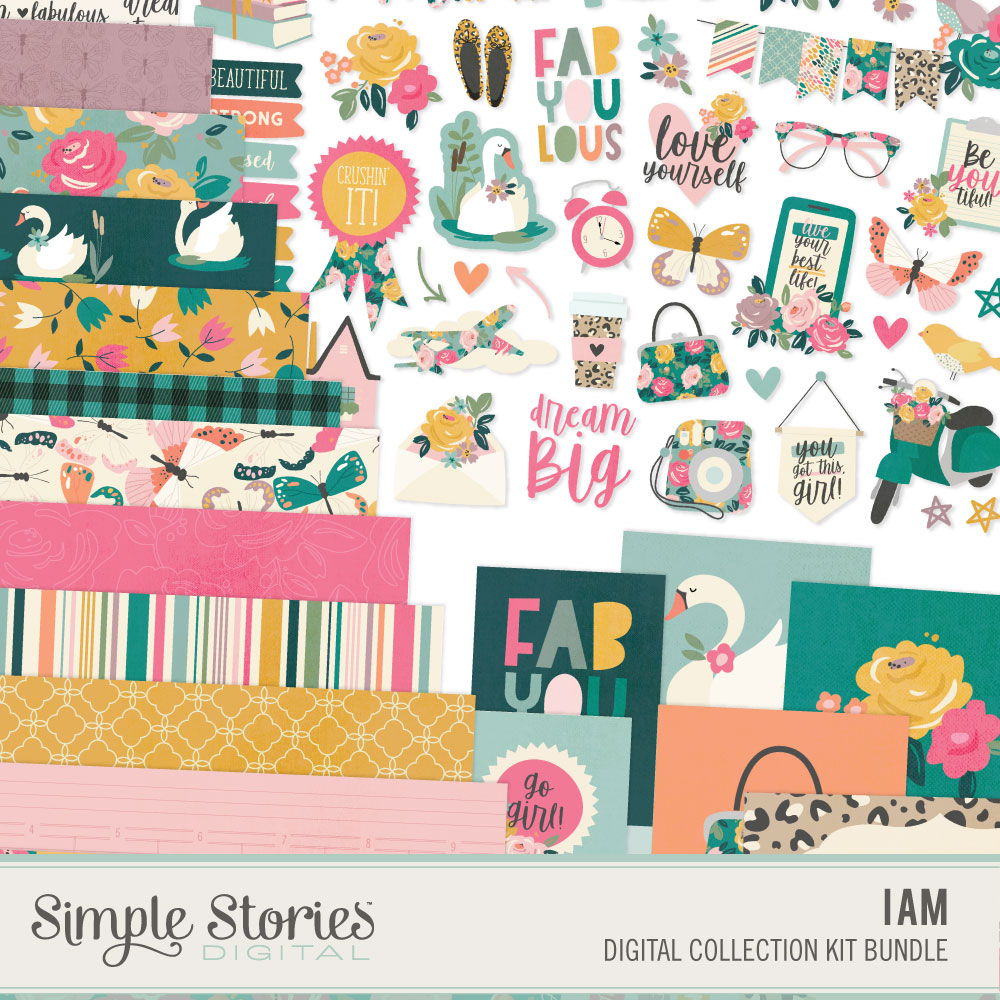 I Am Digital Collection Kit Bundle