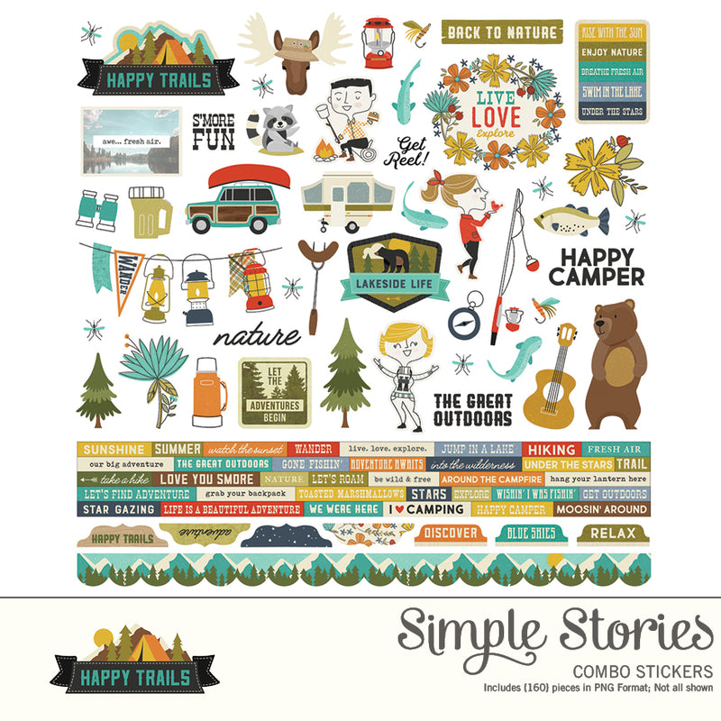 Happy Trails Digital Collection Kit