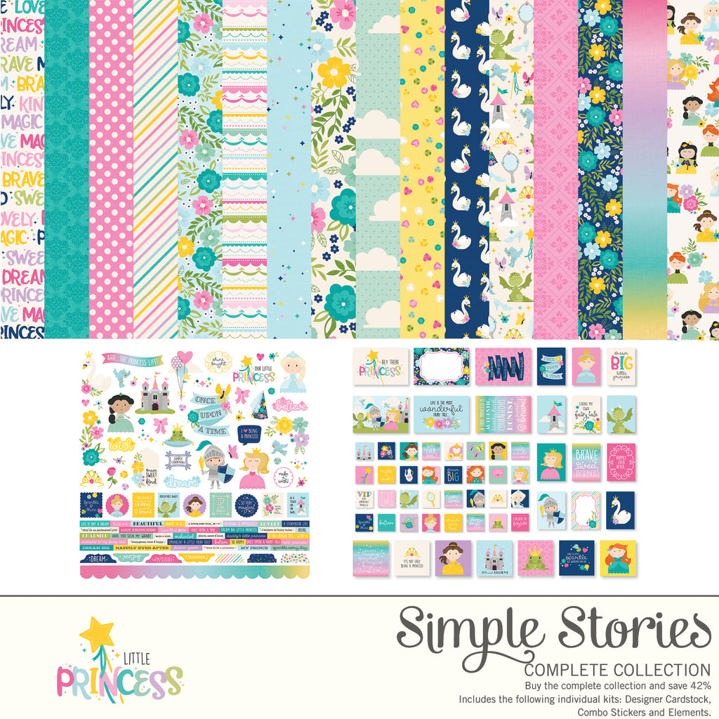 Little Princess Digital Collection Kit