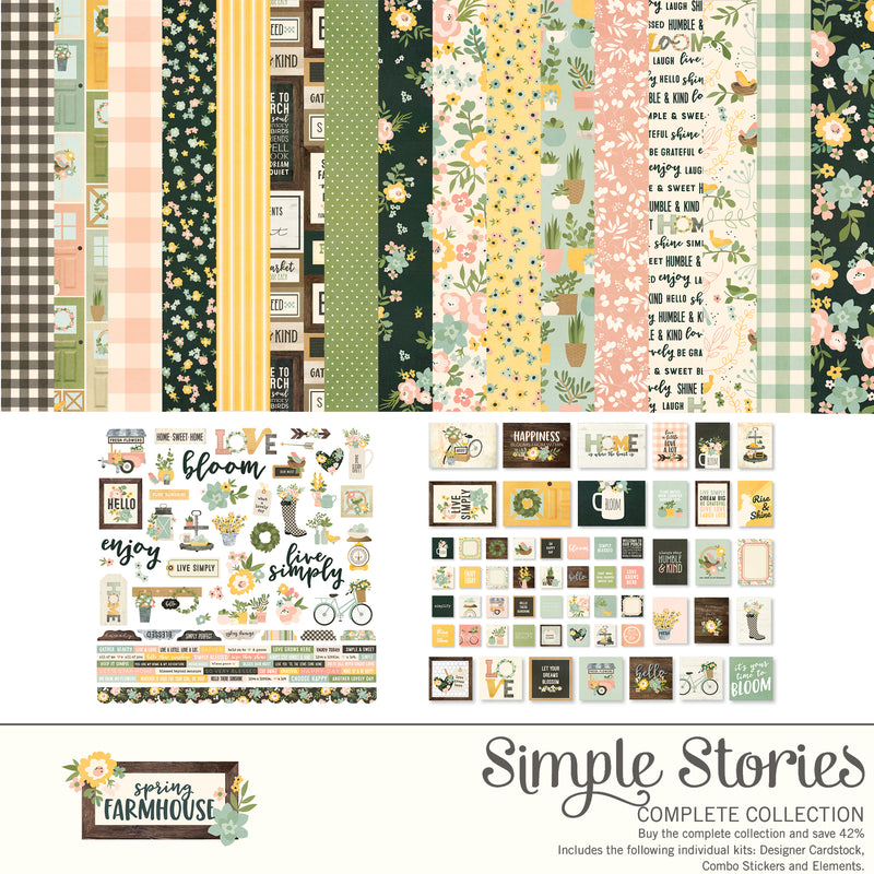 Spring Farmhouse Digital Collection Kit