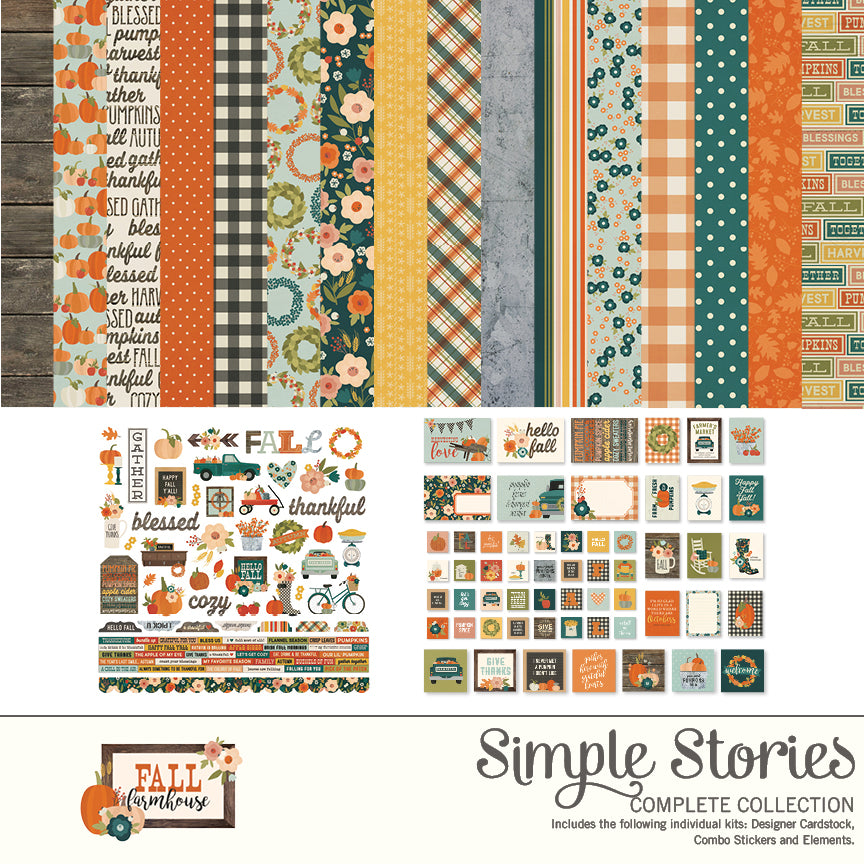 Fall Farmhouse Digital Collection Kit