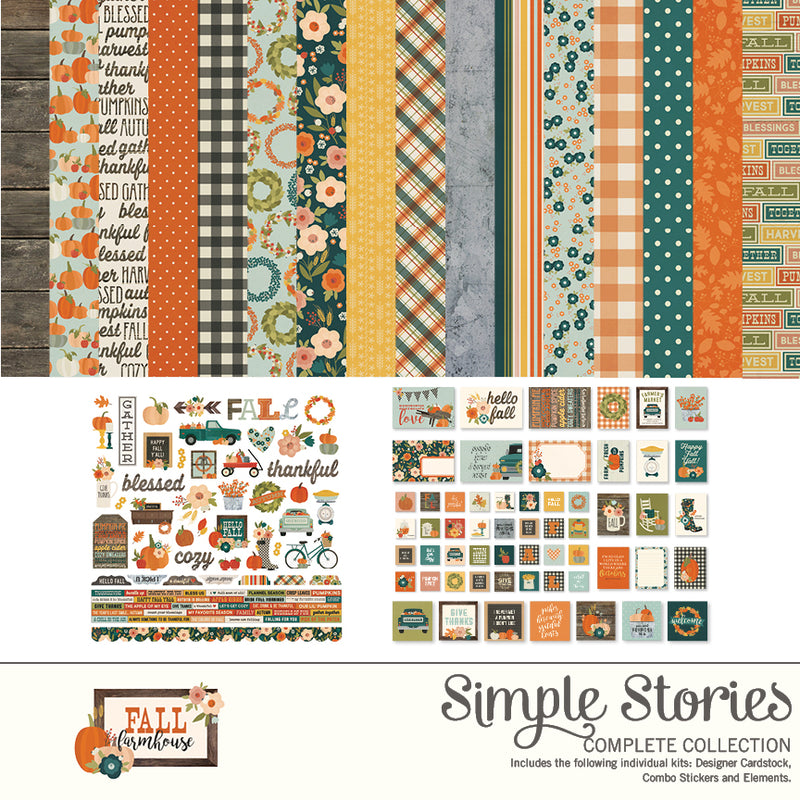 Fall Farmhouse Digital Elements