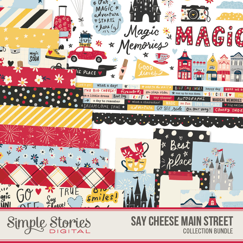Say Cheese Main Street Digital Collection Kit